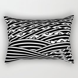 """Amok"" by Drew Litowitz Rectangular Pillow"