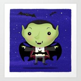 Little Drac! Art Print