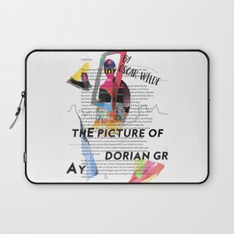 The Picture of Dorian Gray PSTR collage Laptop Sleeve