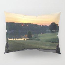Golfing the Lake Pillow Sham