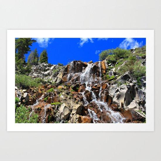 Galena Falls Art Print