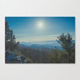 Valley Overlook Canvas Print
