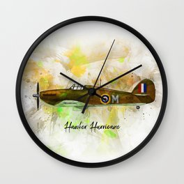 Hawker Hurricane Wall Clock