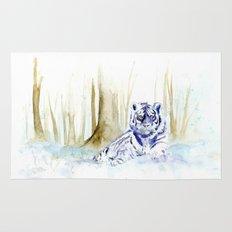 Frost Tiger Rug