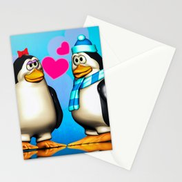 Penguin Romance Stationery Cards