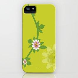 Maracuja flower iPhone Case
