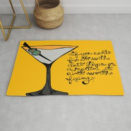 Duct Tape or A Martini Rug
