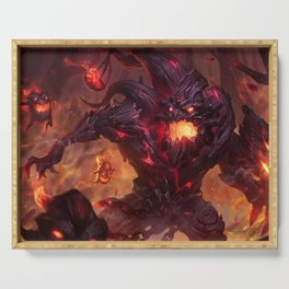 Charred Maokai League of Legends Serving Tray