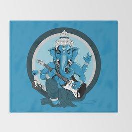 Ganesha rocks ! (v1) Throw Blanket