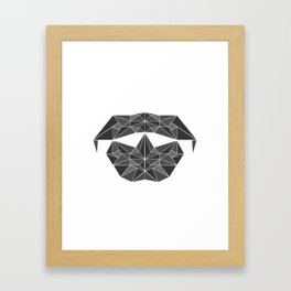 lowpolycyberdog Framed Art Print