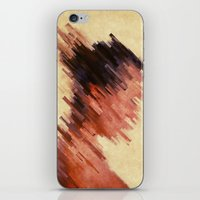 woman iPhone & iPod Skins featuring Woman by SensualPatterns