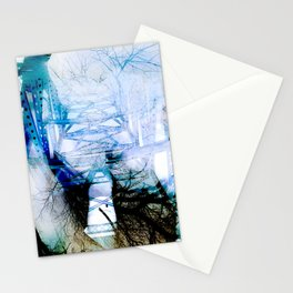 Winter Bridge Stationery Cards