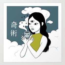 Kijutsu Art Print