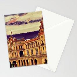 Plaza de Espana Stationery Cards