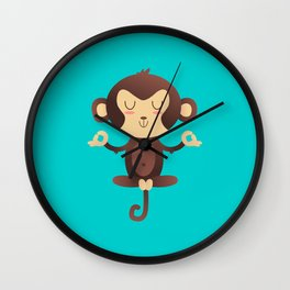 ChimpanZEN Wall Clock