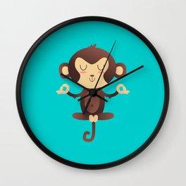 ChimpanZEN Wall Clock