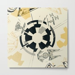 Star Wars Imperial shield Metal Print