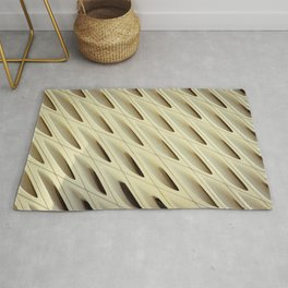 The Broad In the Afternoon Vintage Retro Pattern Photography I Rug
