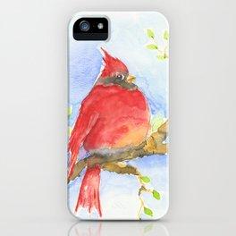 Mr. Cardinal iPhone Case