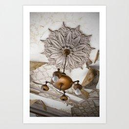 1863 Ceiling Art Print