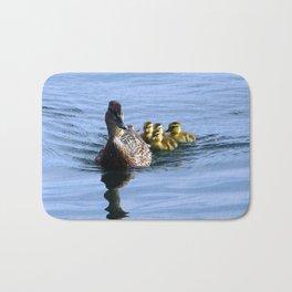 Mallard Duck Family Bath Mat