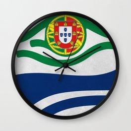 Portuguese Hawks Fans Wall Clock