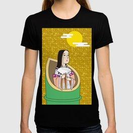 Princess Kaguya on Gold-leaf Screen T-shirt