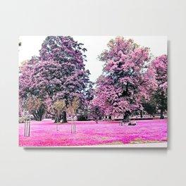 Rosa Park Picnic Metal Print