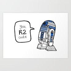 R2CUTIE Art Print