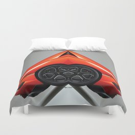 Uber Ride Of The Future Duvet Cover