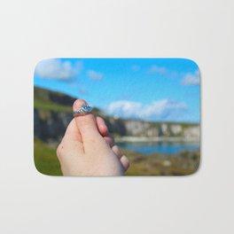 Claddagh Ring in Ireland Bath Mat