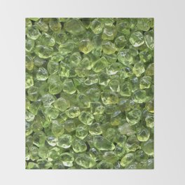 Peridot Throw Blanket