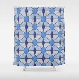 Geometrix 146 Shower Curtain