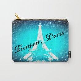 Bonjour, Paris! Carry-All Pouch