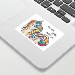 Rainbow Pony Sticker