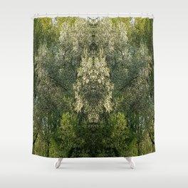 Hidden creatures Shower Curtain