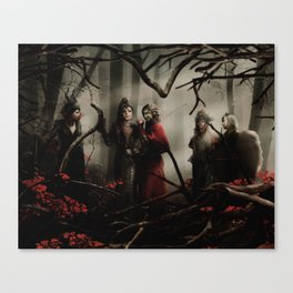 Queens of Darkness - Darkness has arrived Canvas Print