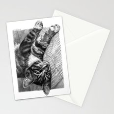 Resting Kitty G064 Stationery Cards