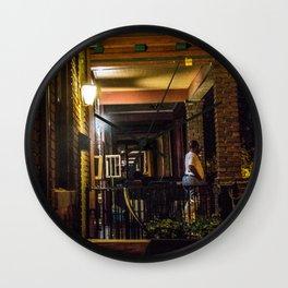 Porches Wall Clock
