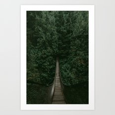 Into the Wilderness Art Print