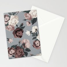 Floral, Romantic, Roses, Flowers, Stationery Cards