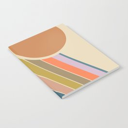 Pastel Sunrise Notebook