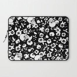Skull Flowers Laptop Sleeve