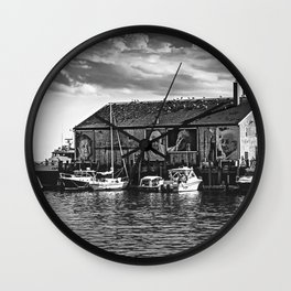 They Also Faced The Sea Wall Clock