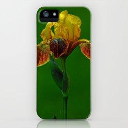 The Wise Iris iPhone Case
