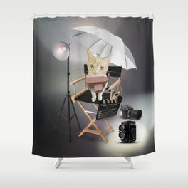 Catographer Shower Curtain