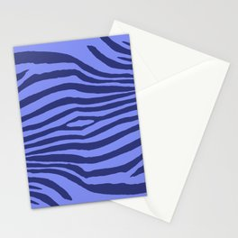 Animal Waves (Blue Mood) Stationery Cards