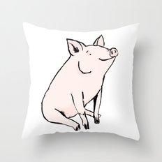Pig Throw Pillow