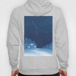 Cancer constellation, house Hoody