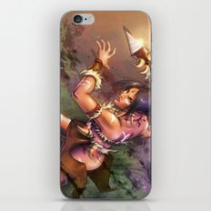 The Bestial Huntress iPhone & iPod Skin